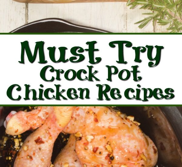A crock pot can really save the weeknights! These Crock Pot Chicken Recipes are perfect to rotate into your meal plan for a frugal dinner. Weeknights can be the worse to get a good dinner on the table, so coming home to dinner done in the crock pot is a huge sanity saver.