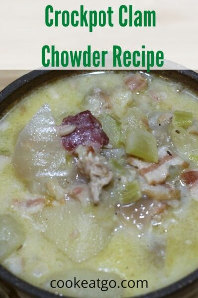 This easy to make Crockpot Clam Chowder Recipe is the perfect way to warm in the cooler months and the perfect way in the summer to make amazing fresh Crockpot Clam Chowder Recipe. Either way, this will be a hit any time of year with your family for dinner!