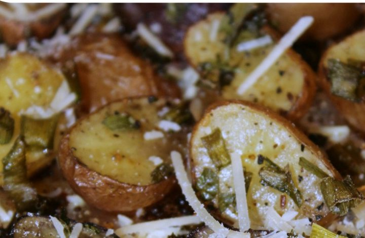 Easy Oven Roasted Baby Potatoes