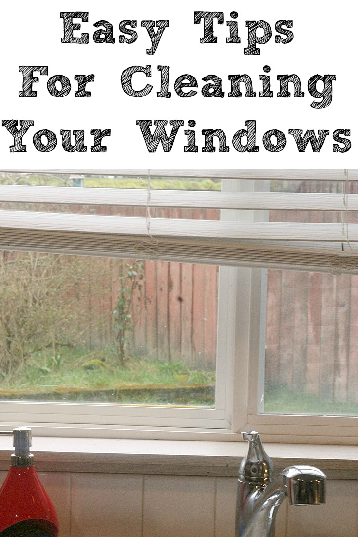 These Easy Ways to Clean Your Windows are the perfect way to start off your spring cleaning!! From tracks, to frame, to the window sill, to window treatments, and the window itself, it will brighten up any room in your house!! Plus, it makes the process faster when you have a clear plan for tackling the project!