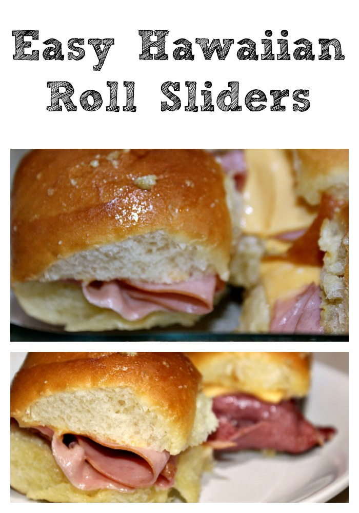 These Easy Hawaiian Roll Sliders are perfect for a quick dinner or they can double as an appetizer for tailgating season as well. Easy to assemble, perfect to take to a friend, and they are frugal too! So many ways to change them up it's never the same meal!
