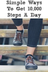 These simple ways to get in 10,000 Steps A Day!! Making small changes in your everyday routine is the perfect way to hit this goal! Small changes make a big difference!