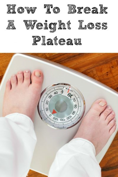 How To Break A Weight Loss Plateau!! It happens on any weight loss journey! It is crazy some of the easy changes you can make to help break through it!
