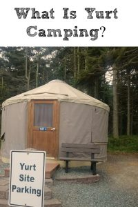 What is Yurt Camping? Yurt camping is the perfect way to camp with kids and enjoy the outdoors with easy set up and less to haul while travling!
