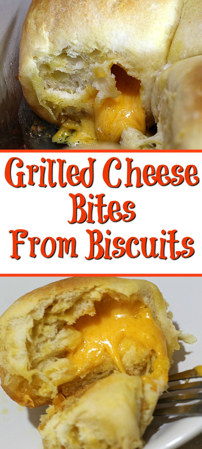 Grilled Cheese Bites are the perfect quick meal to make! Perfect for tailgating, quick dinner, and they are frugal to make as well!