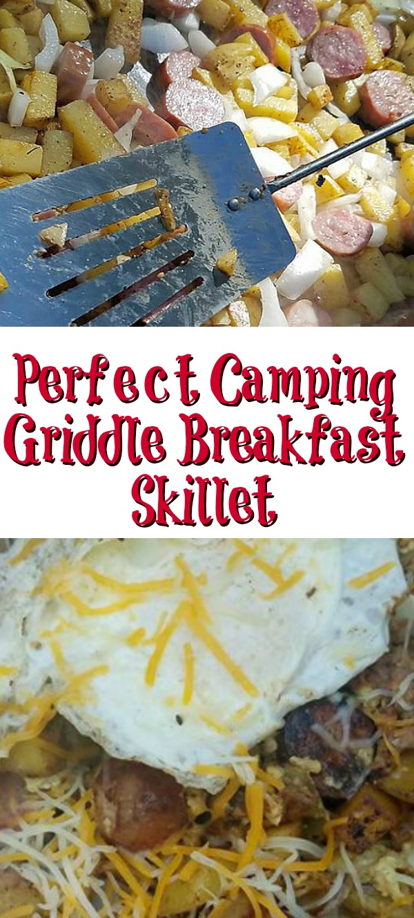 Perfect Camping Griddle Breakfast Skillet Cook Eat Go