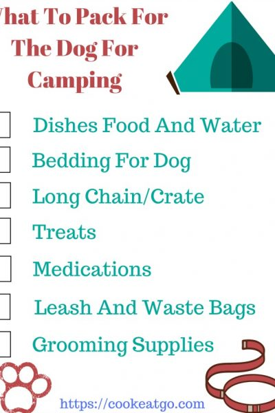 The perfect printable check list for Camping with dogs is a lot of fun! However knowing What To Pack For Camping With Dogs will make the experience more enojyable for both humans and dogs!