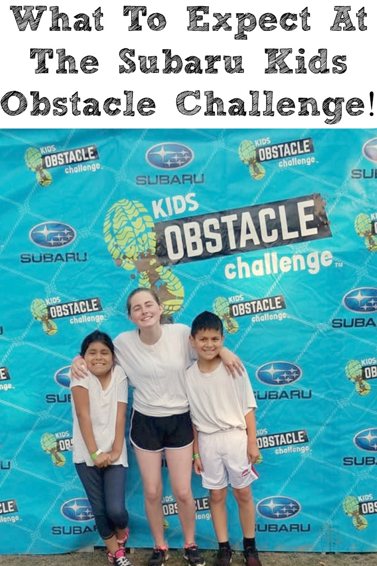 Wondering What To Expect At The Subaru Kids Obstacle Challenge? Planning ahead with clothes and little things will make the obstacles fun for all!