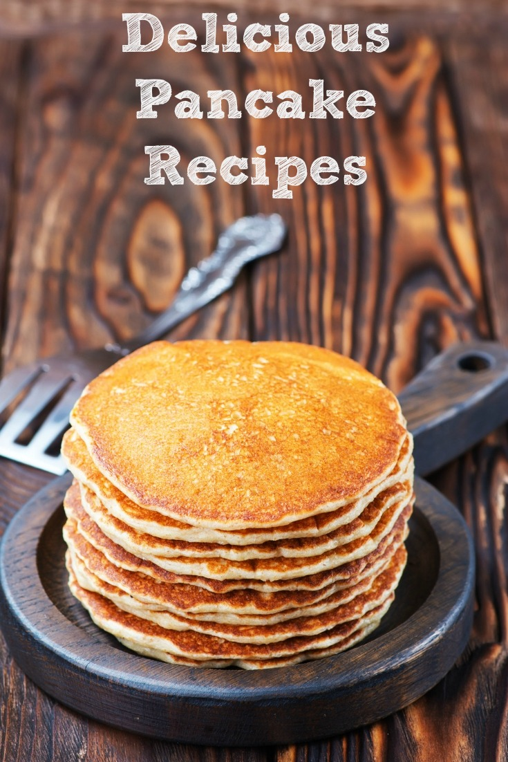 These Delicious Pancake Recipes are Perfect For Brunch! Trying out new pancake recipes is perfect as seasons change or to just change up a great breakfast!