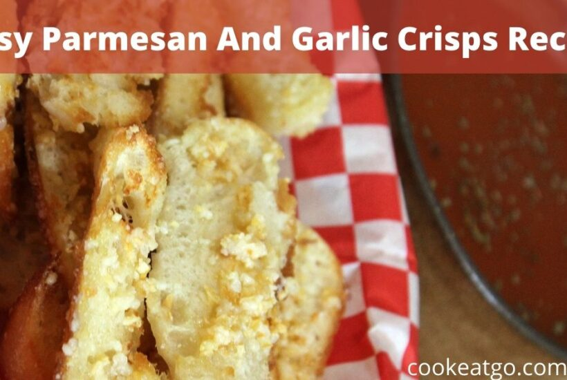 This Easy Parmesan And Garlic Crisps Recipe is perfect to make to pair up with fall soups or just to serve with a pasta dish! Made out of English Muffins!