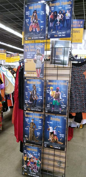 Why You Should Shop At Goodwill For A DIY Halloween Costume! Creating a DIY Halloween Costume is fun and easy at Goodwill and a great way to save money!