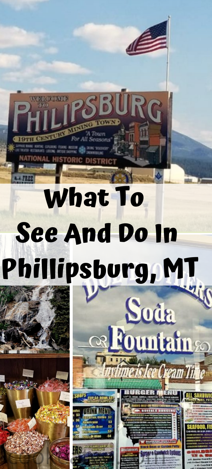 How To Spend The Day In Phillipsburg Montana! From shopping to sapphire mining, lunch, breweries, shopping, and ghost town you can spend a whole day here!