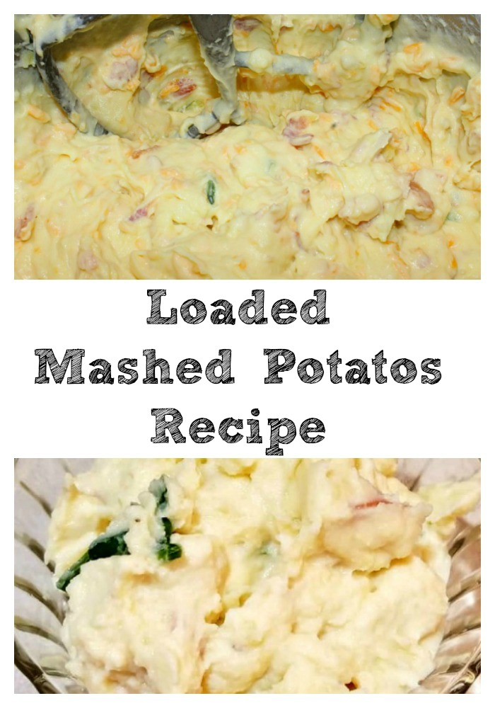 This Loaded Mashed Potatoes Recipe is perfect for any holiday dinner like Thanksgiving, Christmas, Easter, or other special dinners! The flavor is amazing!