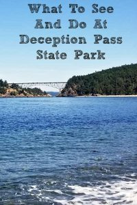There is so much to see and do at At Deception Pass State Park! It is a great park to visit on Whidbey Island to kayak, hike, fish, or camp at!