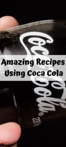 These Amazing Recipes Using Coca Cola are perfect for several occasions, cooking in the crock pot, grilling, and desserts!  Adding a great sweet flavor!