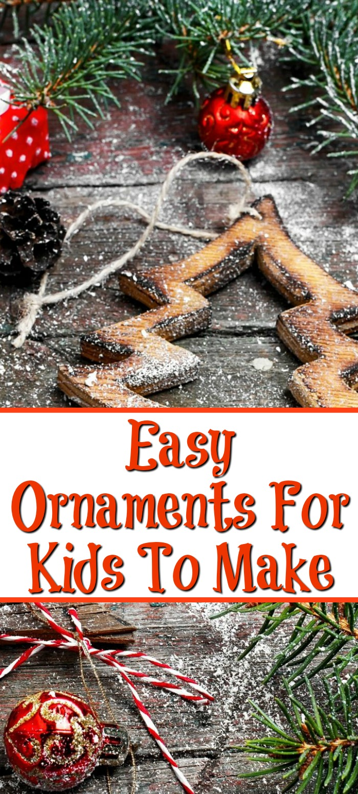 These 23 Easy Ornaments For Kids To Make are perfect to create with your kids for this Christmas season. Plus they can make great gifts for family too!