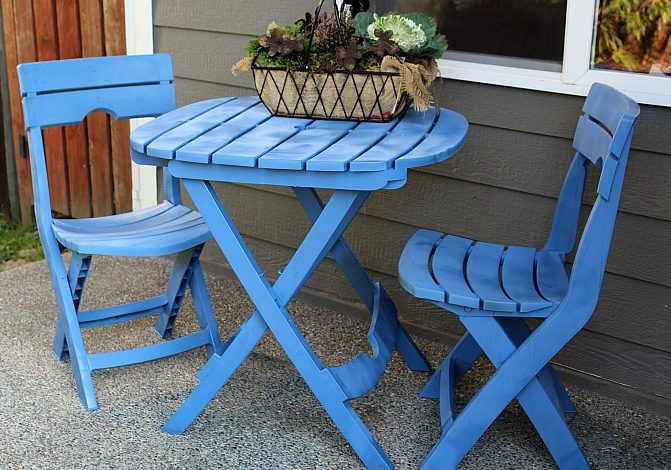Easy Tips To Upcycle Patio Furniture