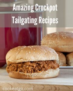 These amazing crock pot tailgating recipes!!! These are perfect for any football tailgating get together you could host!