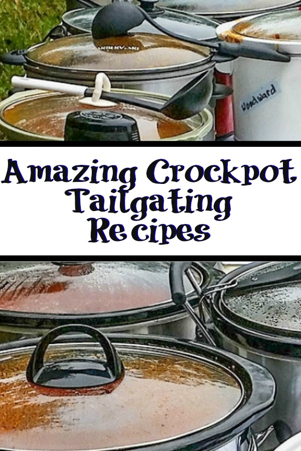 These amazing crock pot tailgating recipes!!! These are perfect for any sport of tailgating get together you could host, or take to a party.