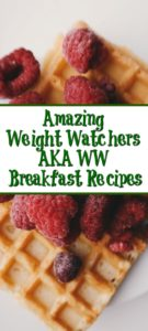 Weight Watchers Breakfast Recipes can be key to being successful on Weight Watchers aka WW! One of the most important meals of the day, easy to add fruit.