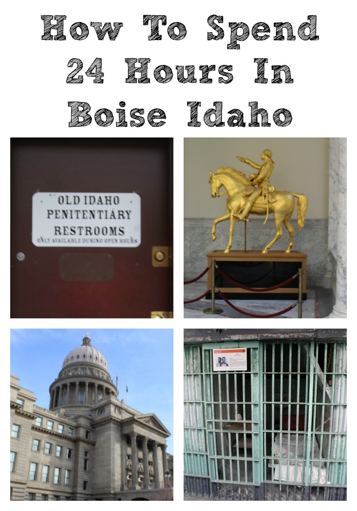 How To Spend 24 Hours In Boise Idaho!! With parks, the capital Old Idaho Penitentiary, and streets to explore its the perfect vacation destination!