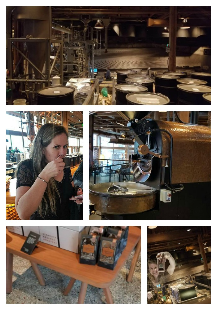The Coffee, Chocolate, and Wine Tour With Show Me Seattle is the perfect way to see Seattle. The Starbucks Roastery, Frans Chocolate, and Estates Wine Room are stops on the tour!