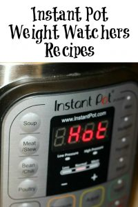 These Instant Pot Weight Watchers Recipes are perfect for quick and easy food at any time! Plus they are recipes your family will love as well!