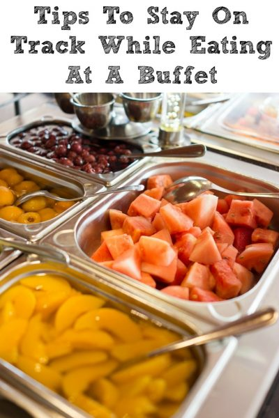 Tips To Stay On Track While Eating At A Buffet! Thankfully everything fits in the WW aka Weight Watchers plan, having a buffet food plan makes a difference.