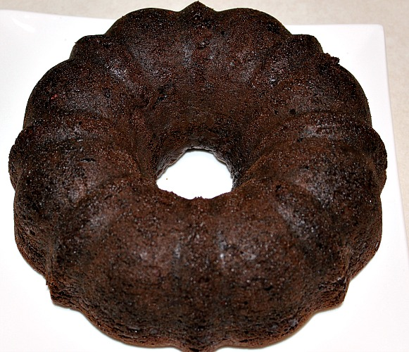 This Triple Chocolate Bundt Cake is sure to cure any chocolate craving! With cake mix, pudding, and chocolate chips its the perfect bundt cake to make!