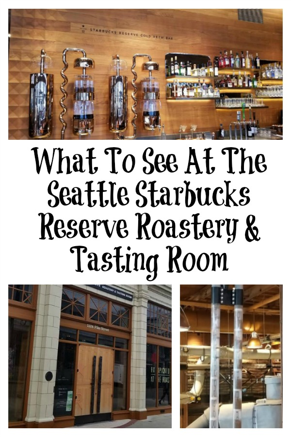 What To See At The Seattle Starbucks Reserve Roastery & Tasting Room!! Located in Seattle WA this is a must-visit for any Starbucks lover.