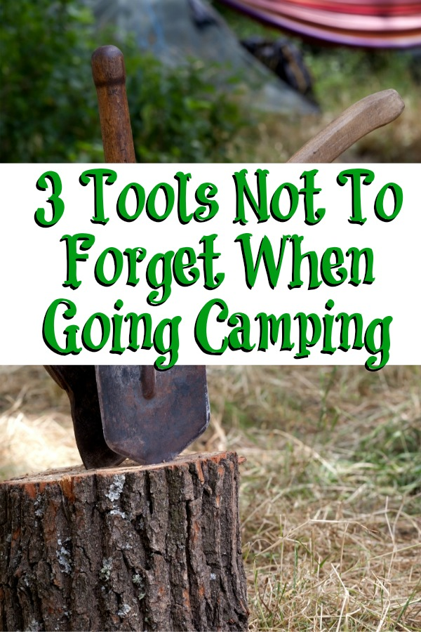 These 3 Tools Not To Forget When Going Camping seem like no brainers but easy to forget! Plus with multiple uses, they help your camping trip go smoother!