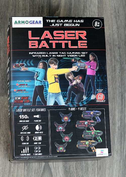 Why You Need Armogear Laser Battle For Your Kids! Summer approaching this is the perfect way to keep kids outside and active, and playing with friends.