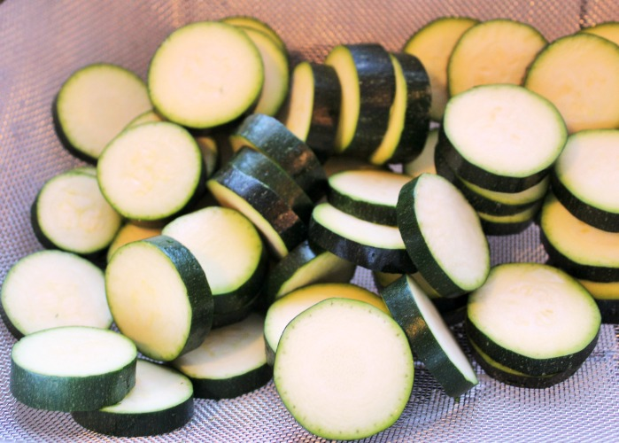 This Cast Iron Grilled Zucchini Recipe is the perfect grilling side dish to make up! With just three ingredients this is the perfect fresh vegetable side!