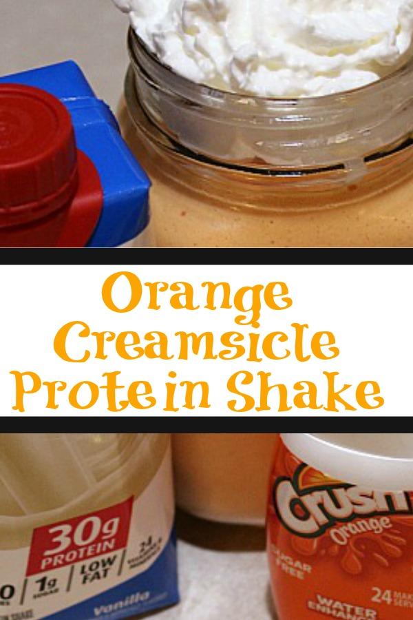 Orange Creamsicle Protein Shake Recipe 3 Ww Smartpoints Cook Eat Go