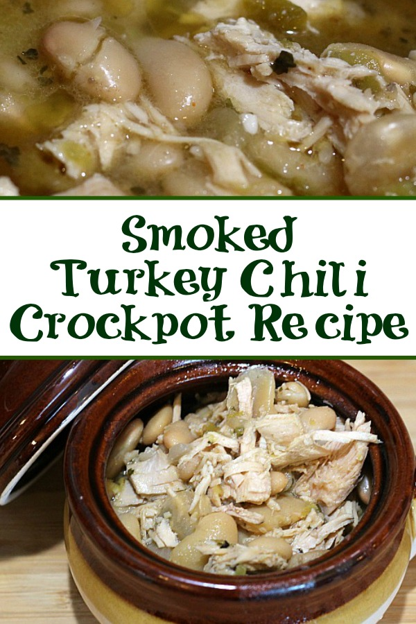 This Smoked Turkey Chili Recipe is the perfect way to use up leftover turkey from any holiday meal! Easy to make and the taste is amazing as well!