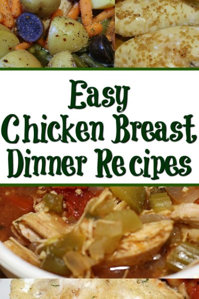 There are never enough Chicken Breast Recipes it seems like!! Chicken breasts are perfect protein for dinner, love fast frugal chicken breast recipes.