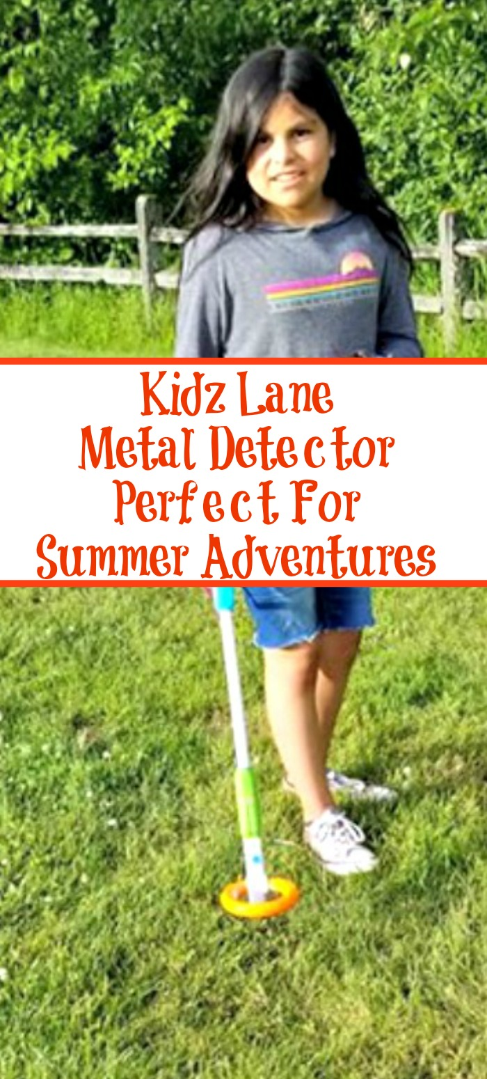 Kidz Lane Metal Detector is the perfect way to take kids on treasure hunts and to spice up summer outdoor adventures! Easy to assemble and easy to use!