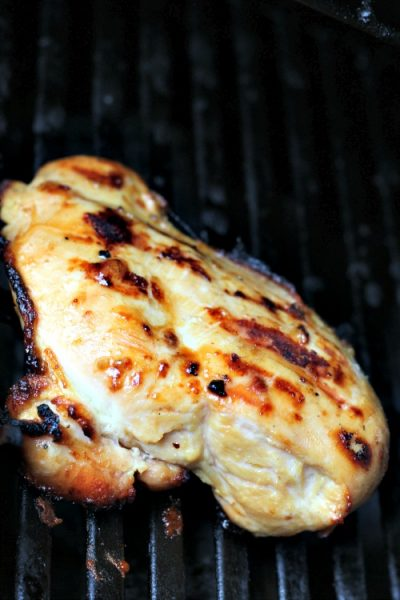 This Easy Grilled Garlic Chicken Marinade Recipe is perfect for a quick dinner using the Better Than Bouillon garlic and chicken to add flavor.