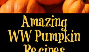 These WW Pumpkin Recipes are perfect to make for fall and a great way to stay on track with Weight Watchers. Pumpkin drinks, breakfast, dessert, and meals.