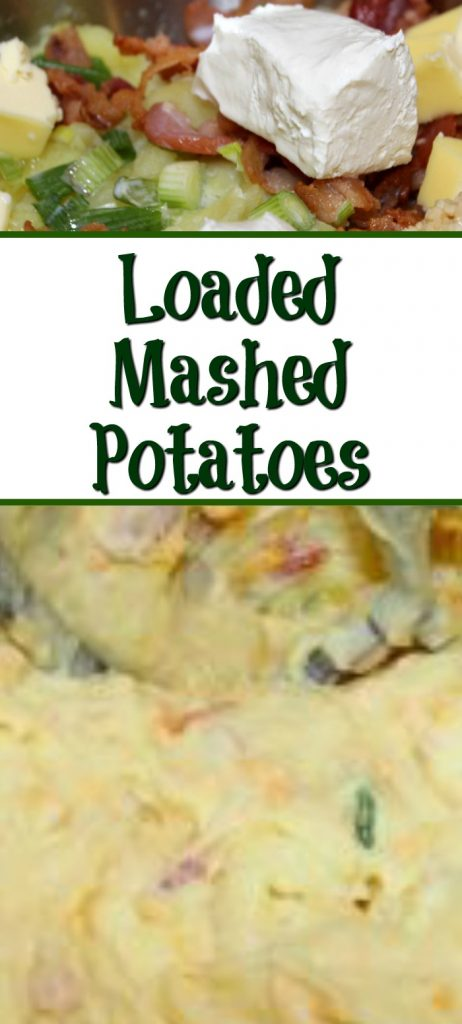 This Loaded Mashed Potatoes Recipe is perfect for any holiday side dish and dinner like Thanksgiving, Christmas, Easter, or other special dinners! The flavor is amazing!