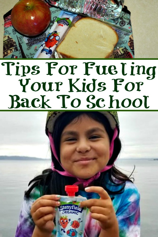These Tips For Fueling Your Kids For Back To School are perfect for helping your kids start the school year right! Plus keep their energy up for afterschool activities as well!