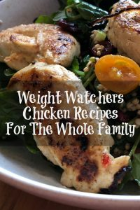 Weight Watchers Chicken Recipes are perfect to make for family dinner!! There are a lot of 0 Weight Watcher Free Style Smartpoints options or low point.