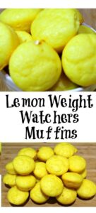 Weight Watchers Lemon Muffins Recipe is made with just two ingredients and are low Smartpoints on all MY WW plans! Mix together and bake to enjoy!