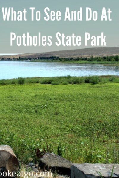 Looking for a great weekend staycation! There is plenty to do At Potholes State Park her ein Washington! Camping, hiking, fishing, boating, and more!