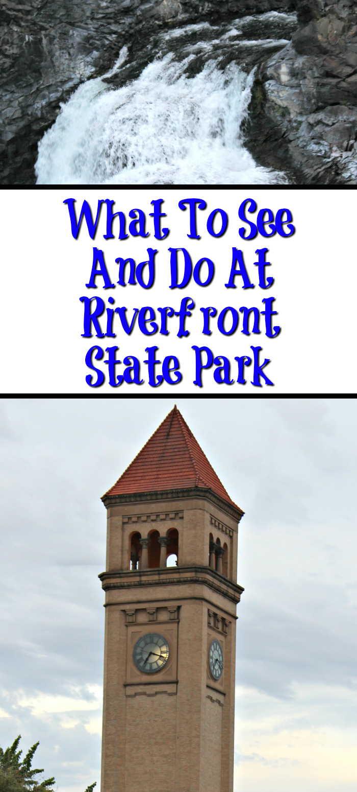 So much To See And Do At Riverfront Park In Spokane WA! The Big Red Slide, the City Blocks, the Carousel, Spokane Falls, the Walking paths, and more!