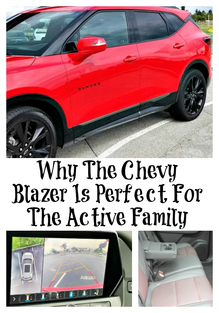 An active family requires a vehicle that can keep up!! The Chevy Blazer is perfect family activities and so many added saftey features for long travels!