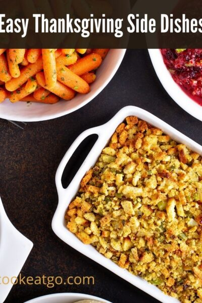 These Easy Thanksgiving Side Dishes are perfect for your holiday meal! Finding new dishes to make or take can make the holiday dinner even more special!