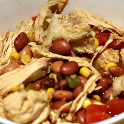 This Weight Watchers Chicken Taco Soup Recipe is one your whole family will love! Plus it works out to zero freestyle points and low smartpoints! #ww #freestyle #smartpoints #tacosoup