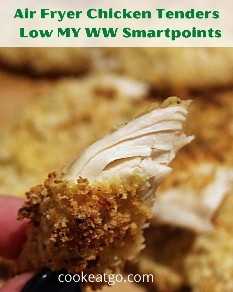 This Air Fryer Chicken Tenders Recipe is the perfect quick dinner to make at home! Chicken Tenderloins in the Perdue Farms Family Bundle are perfect!  Plus the chicken tenders work out to low smart points on the My WW Blue and Purple plan! The My WW Green plan does work out to a bit more points.