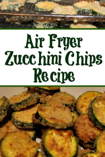 Air Fryer Zucchini Chips Recipe Plus PowerXL Air Fryer Pro Review!! So easy to make and a healthy alternative to chips as well.
